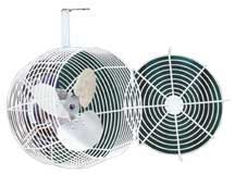 Horizontal air flow fan 12 hydro gardens for Air circulation fans home